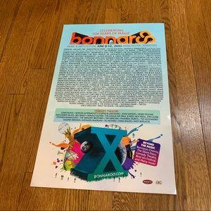 NWT Bonnaroo 2011 Festival Poster